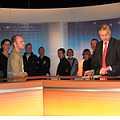 Medientechniker im Fernsehstudio des SWR